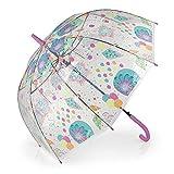 Gabol - Mimic | Paraguas Transparente con Apertura Automática