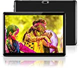 Android Tablet 10 Inch with Sim Card Slots - 10.1' 4GB RAM 64GB ROM Octa Core 3G Unlocked GSM Phone Tablet PC with WiFi Bluetooth GPS Netflix YouTube (Black)