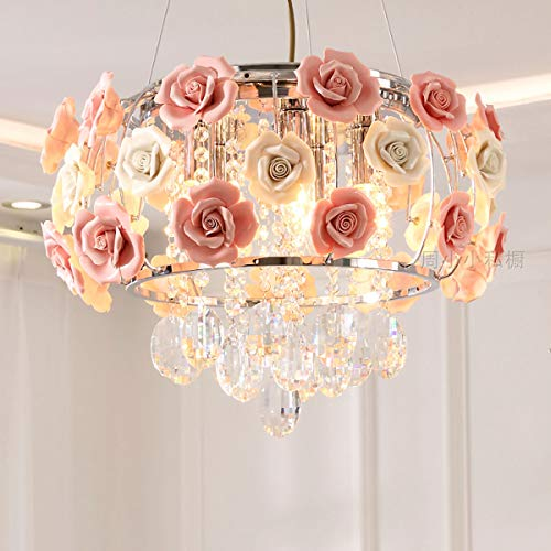 Ceiling Chandelier Light Fixture, Ceiling Lights Chandelier for Girl's Bedroom Lights Fixture with...