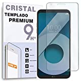 REY Protector de Pantalla para LG Q6 / Q6 Alpha / Q6 Plus, Cristal Vidrio Templado Premium