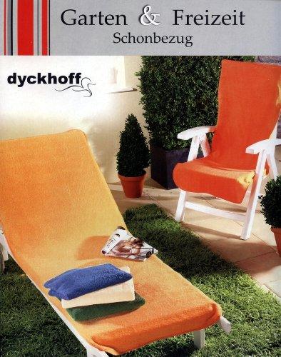 Dyckhoff Hoes voor tuinstoel, groen, 60 x 130 cm