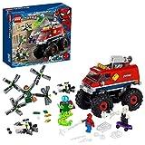 LEGO 76174 Super Heroes Marvel Spider-Man Monster Truck de Spider-Man vs. Mysterio con Figuras de Doctor Octopus y Spider-Gwen