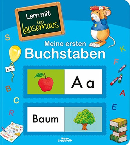 Lern mit Leo Lausemaus: Meine ersten Buchstaben (Lingoli)