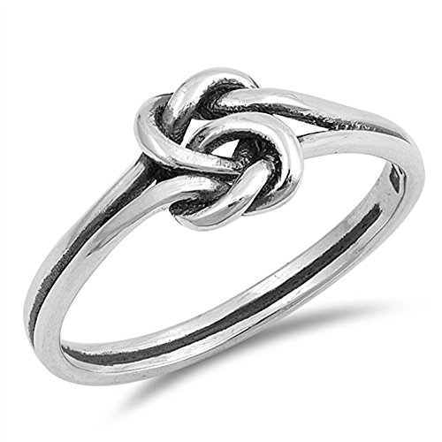 Celtic Knot Criss Cross Woven Thumb Ring New 925 Sterling Silver Band Size 10