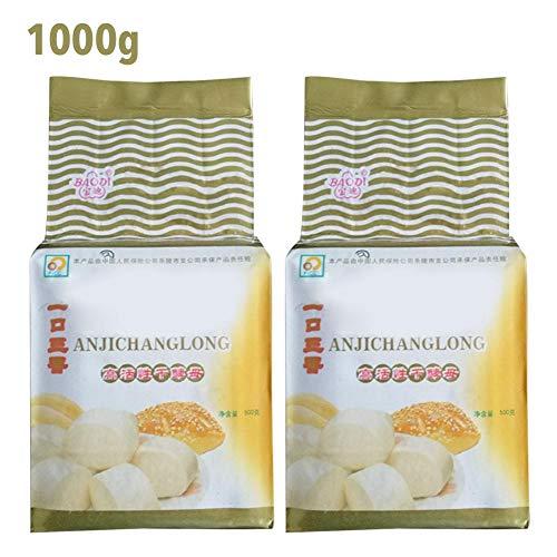 iYoung Lievito Alimentare, 500 g Lievito per Pane Lievito per Birra Lievito Secco Attivo Tolleranza al glucosio Alta Forniture per la Cottura della Cucina