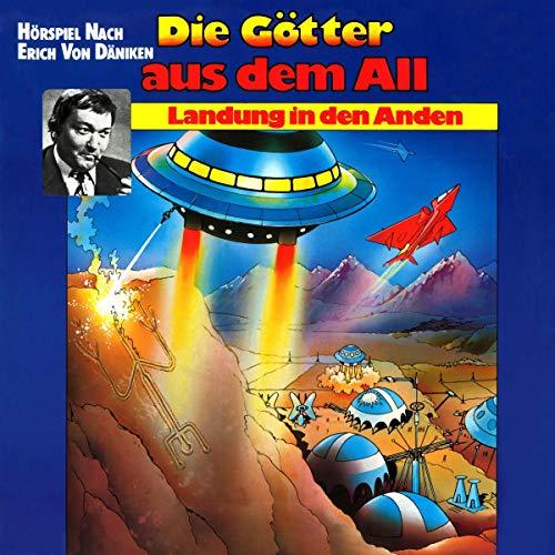 Landung in den Anden audiobook cover art