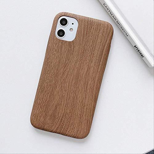 Estuche de teléfono de Grano de Madera Retro de Moda para iPhone 12 Mini 11 Pro 11pro MAX SE 2020 6 6s 7 8 Plus Funda Suave para iPhone XS MAX X XR para iPhone 6plus Estilo 3