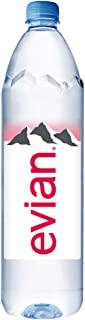 Evian, Evian Agua Natural, 1.25 litros, 12 Pack