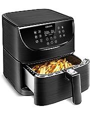 COSORI Heteluchtfriteuse 3,5 l Airfryer Friteuse Air Fryer met digitaal led-touchscreen, 11 programma's, voorverwarmen en warm houden, shake-modus, 100 receptenboekje, zonder olie, 1500 W