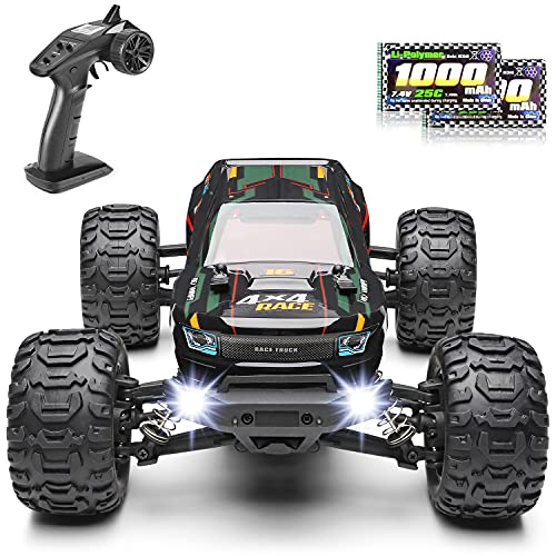 HAIBOXING Ferngesteuertes Auto 1:16 RC Monster Truck, Wasserdichter RTR All Terrain RC Auto 36 km/h, ferngesteuertes Spielzeug für Kinder und Erwachsene