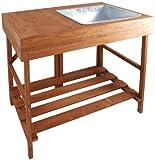 esschert Design - Table à rempoter en Bois Dur