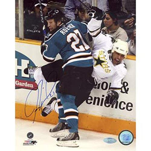Steiner Sports NHL San Jose Sharks Jeremy Roenick San Jose Sharks Checking Vertical 8x10 Photograph