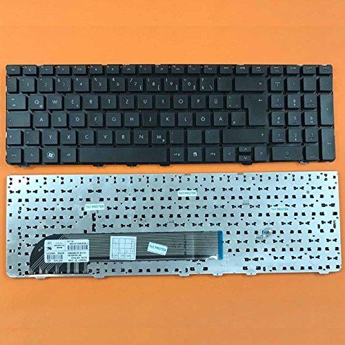 kompatibel für HP ProBook 4730s Tastatur - Farbe: schwarz - ohne Rahmen - Deutsches Tastaturlayout