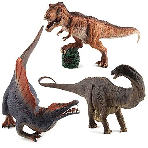 WWYYZ Juguetes Modelo De Dinosaurio De Simulación, Figura Móvil De Mandíbula, Juguete Educativo para Niños, Suministros De Fiesta, Adornos Estáticos