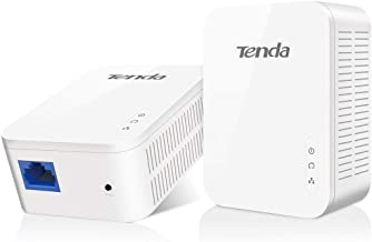 Tenda AV1000 1-Port Gigabit Powerline Adapter, Up to 1000Mbps (PH3)