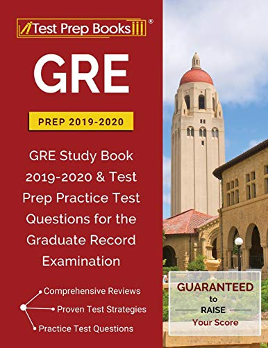 Price comparison product image GRE Prep 2019 & 2020: GRE Study Book 2019-2020 & Test Prep Practice Test Questions for the Graduate Record Examination