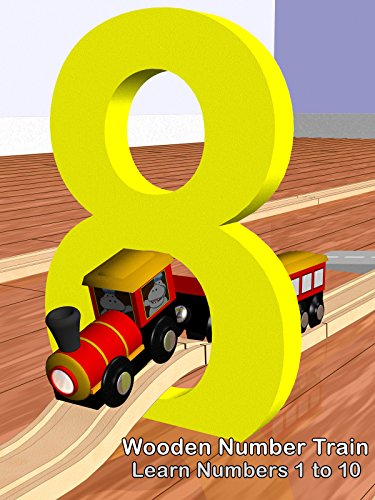 Wooden Number Train - Learn Numbers 1 to 10