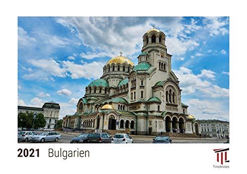 Bulgarien 2021 - Timokrates Kalender, Tischkalender, Bildkalender - DIN A5 (21 x 15 cm)