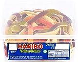 Haribo - Caja de caramelos (2 unidades, incluye barrigas amarillas)
