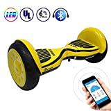 Phaewo Hoverboard 10' Smart Self Balance Scooter, Overboard con LED Autobilanciato Scooter...