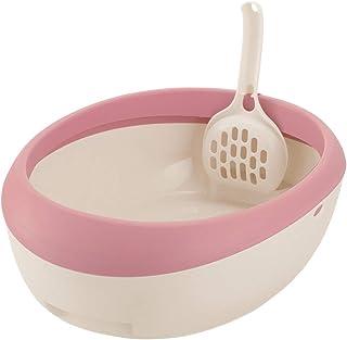 リッチェル 猫用トイレ本体 ラプレ ネコトイレ コーラルピンク 1個 (x 1)