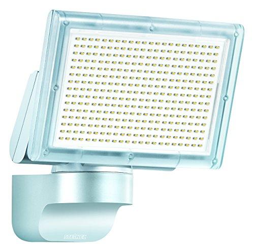 Steinel LED-Strahler XLED Home 3 Slave silber, 4000K, ohne Sensor, 20 W, 1426 Lumen, schwenkbarer LED Fluter vernetzbar