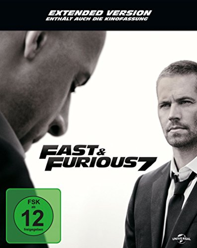 Fast & Furious 7 - Extended Version - Steelbook [Blu-ray] [Limited Edition]