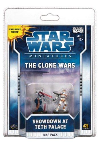 The Clone Wars: Showdown at Teth Palace ('Star Wars' Miniatures)
