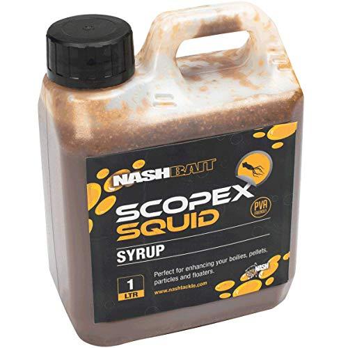 Nash Scopex Squid Syrup 1l B6858 Sirup Dip Liquid Booster Aroma