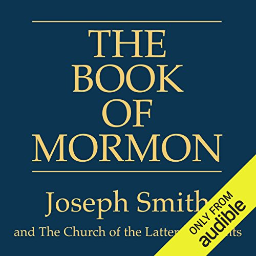 The Book of Mormon audiobook cover art