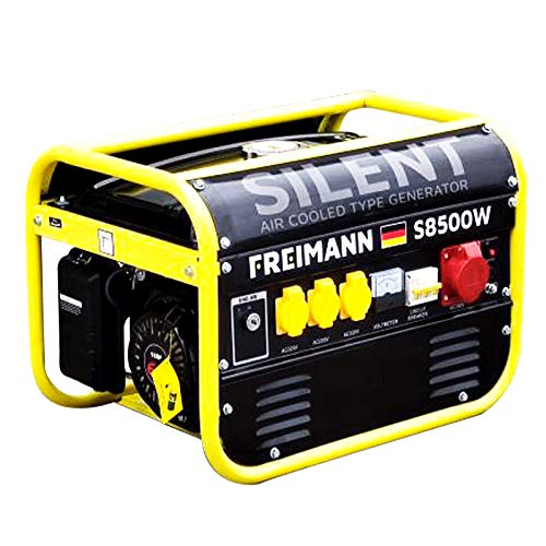 Freimann FM-S8500W Luftgekühlter Benzin Stromerzeuger Generator Aggregat