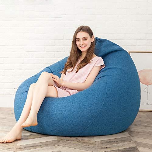 Zhanghaidong Faul Couch Sitzsack EPP Tatami Einzigen Abnehmbaren Wasch Baumwolle Schlafzimmer Balkon Sofa Stuhl Soft & Snugly Designer Stuhl Sitzsack Gaming Sitzsack Sitz