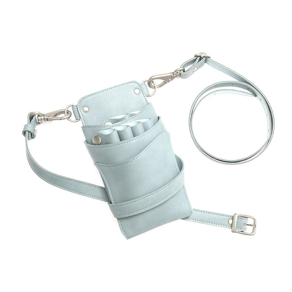 リークブルーム四回DEEDS 日本のシザーケース専門メーカー シエーナno.265 トワイライトブルー 4?6丁入れ