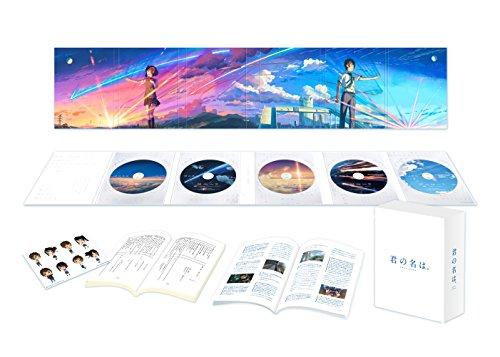 「君の名は。」Blu-rayコレクターズ・エディション 4K Ultra HD Blu-ray同梱5枚組 (初回生産限定)(早期購入...