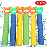 DricRoda Water Guns Toys for Kids, Foam Water Blaster Shooter, Swimming Pool Water Squirt Guns Games Toy for Boys Girls Adults in Summer Outdoor Beach Play, 6 Packs