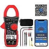 クランプマルチメーター BTMETER BT-570C-APP オートレンジ電話接続あり、AC/DCクランプメータ 4000カウント 抵抗、静電容量、頻度、温度、ワニ口クリップ付き日本語取扱説明書付き