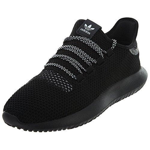 adidas Originals mens Tubular Shadow Ck Fashion Sneakers Running Shoe, Black/Black/White, 10 US
