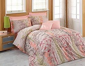 Eponj Home Single Quilt Cover Set - Duvet Cover: 200 x 200 cm, 220 x 240 Pillowcase: 50 x 70 cm (1 Piece)
