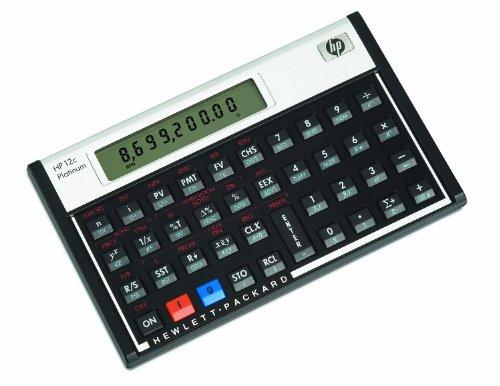 Hewlett Packard [HP] Calculator Financial Platinum RPN Algebraic Programmable Ref HP12C PLATINUM