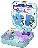 Polly Pocket - Cofre Cuento de hadas en la nieve, muñeca con accesorios (Mattel GDL85) , color/modelo surtido