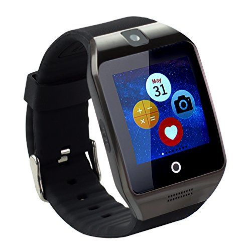 "Tera Apro orologio intelligente Bluetooth 3.0, 1.54 ""LCD"