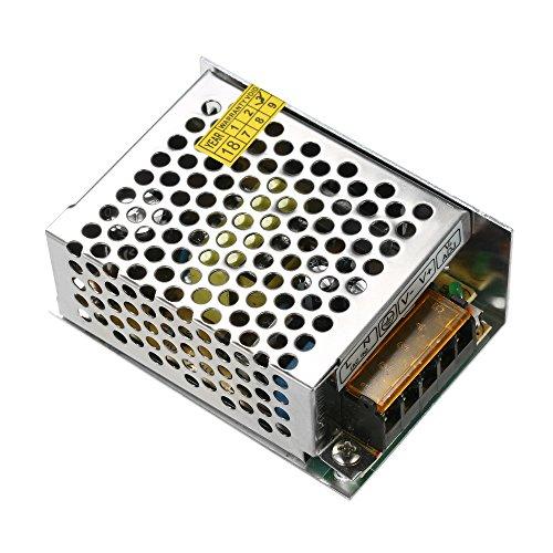 KKmoon AC 110V/220V a DC 12V 2A 25W Modulo di Alimentazione Trasformatore di Tensione per Alimentatore Switching Regolabile per Luce di Striscia a LED