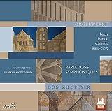 Domorganist Markus Eichenlaub spielt an den Seifert-Orgeln im Dom zu Speyer