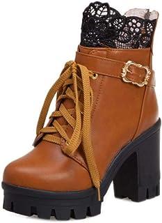 JOJONUNU Women Fashion Martin Boots