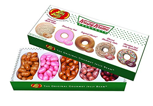 Jelly Belly Candy 64787 4.25oz KK Gift Box 4.25 oz 5 Flavors Krispy Kreme, Multi-colored
