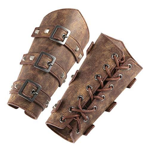 HZMAN Adults Faux Leather Arm Guard…