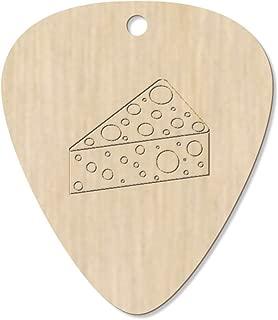7 x 'Swiss Cheese' Guitar Picks / Pendants (GP00018291)
