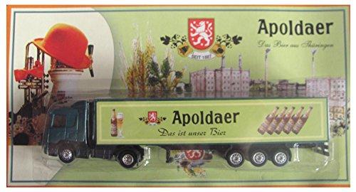 Apoldaer Nr. - Das Bier aus Thüringen - Scania - Sattelzug