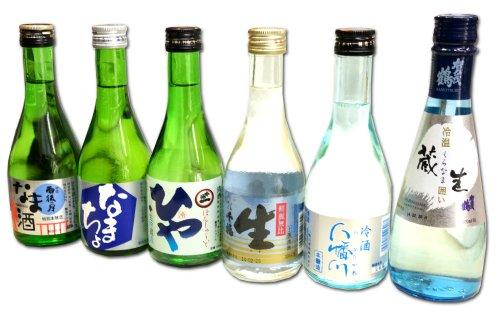広島の冷酒 飲み比べ 300ml 6本 セット