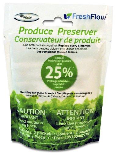 Fresh Flow W10346771A Produce Preserver Keep Fresh Packet Refill